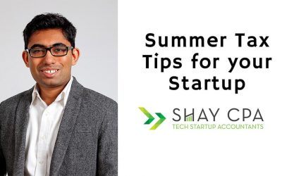Founders – Year-End Tax Tips for your Tech Company to think about this Summer!
