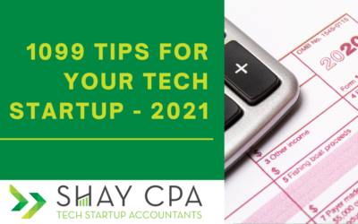 1099 Tips for your Tech Startup – 2021