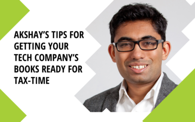 Akshay's tips for getting your Tech Company's books ready for Tax-time