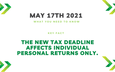 Clarification on IRS updated Tax Deadline