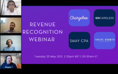 Incase you Missed it: May 2021 Revenue Recognition Webinar.