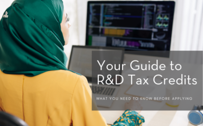Your Guide to R&D Tax Credits