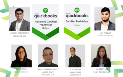 The ShayCPA team are Quickbooks ProAdvisor Certified