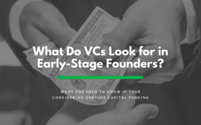 What do VC's look for in early-stage founders?