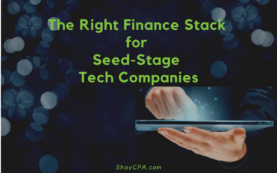 The Right Finance Stack for Seed-Stage Tech Companies