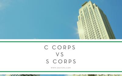 C Corps vs. S Corps